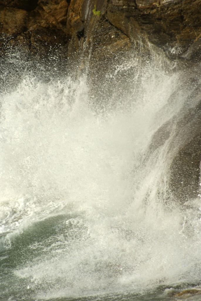 Explosion de vague
